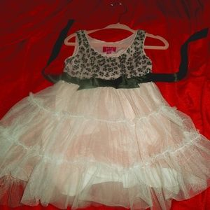 adorable Pinky sequin top tutu skirt sz 2t dress
